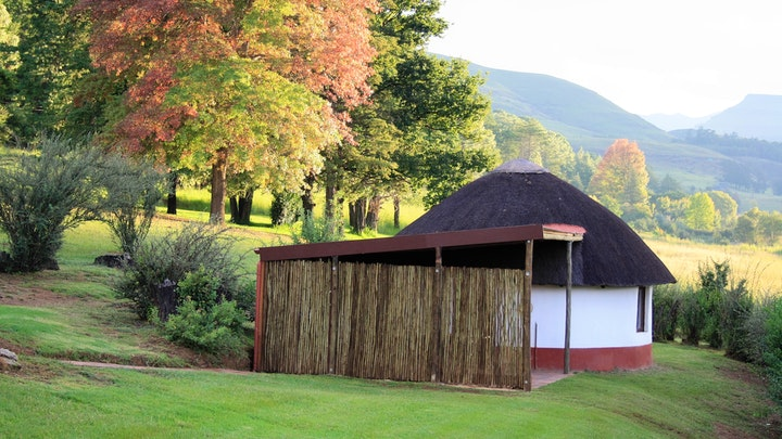 Drakensberg Accommodation at Aspen Villas Bushmans Rest Rondavel | TravelGround