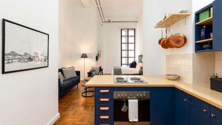 at Designer Art Deco Apartment | TravelGround