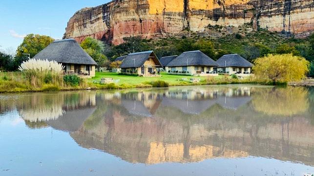 at Lesoba Guest Farm   TravelGround