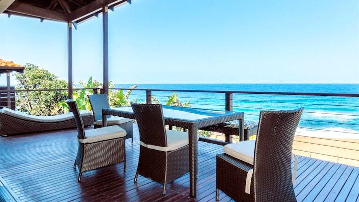 Dolfynkus Akkommodasie by Zimbali 3 Bedroom Beachfront ZTD1 | LekkeSlaap