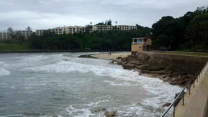 at Beach Front, Penthouse Cabana, Uvongo Main Beach   TravelGround