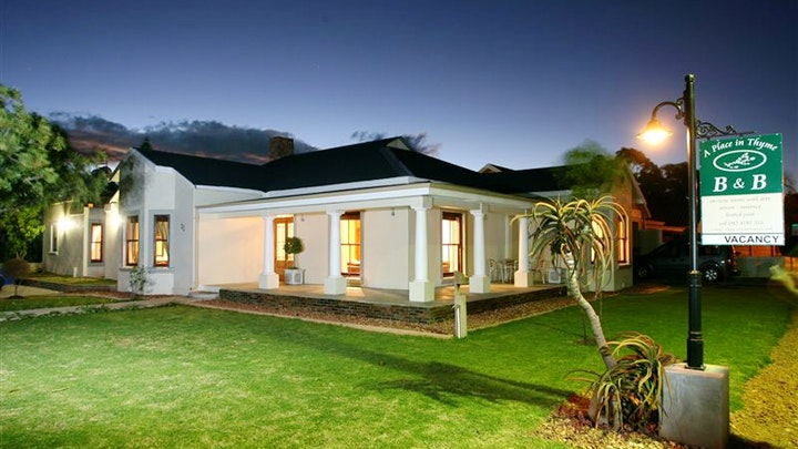 Bonnievale Accommodation at A Place in Thyme B&B | TravelGround