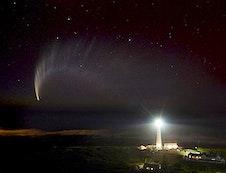 comet over Kommetjie sky