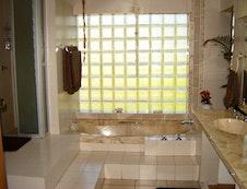 Bathroom of Zebra Suite