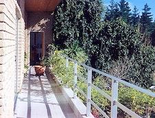 Front balcony to Solarium