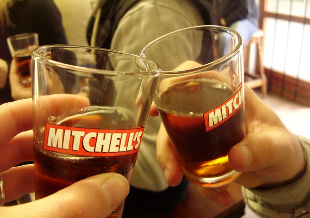 Mitchell\'s Brewery tasting