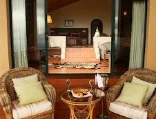 Veranda of Honeymoon Suite