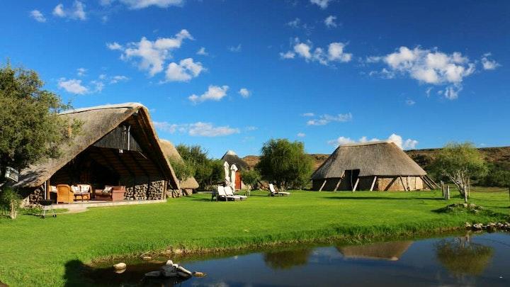 Upper Karoo Accommodation at Camp Nguni   TravelGround