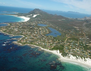 Aerial view of Betty's bay