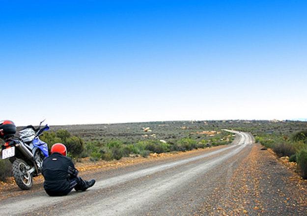 Biking through Tankwa