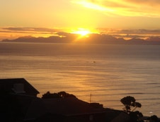 Sunset over False Bay