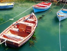 Boats in Simon's Town Harbour