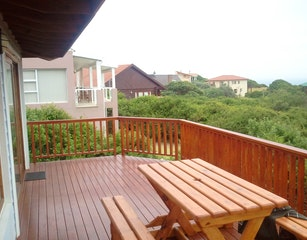 Open deck with some sea views