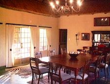 Diningroom in main area