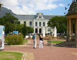 Gazing onto the museum
