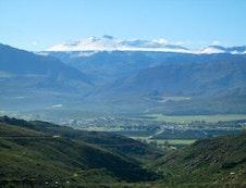 Snow on the Cederberg mountains
