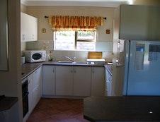 large flat kitchen
