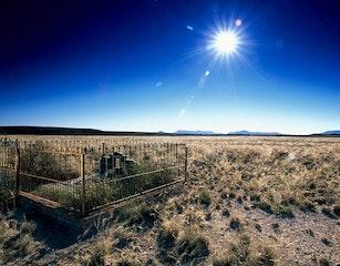 Karoo National Park grave
