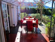 Breakfast deck