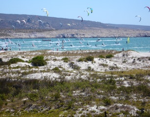 The downwind dash viewed from 134 Beach Road