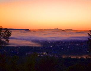 Sunrise from Valley Vista