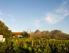 We are situated in the heart of the vineyards