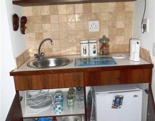 'Open' kitchenette