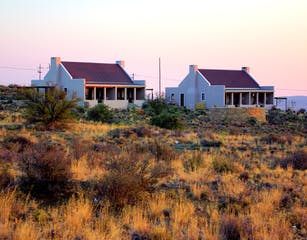 Karoo View Cottages at Sunrise