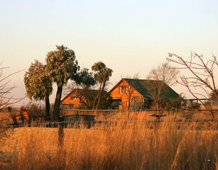 Cottages at Sunset