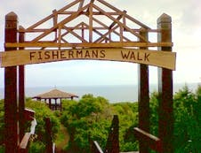 Fisherman's walk entrance