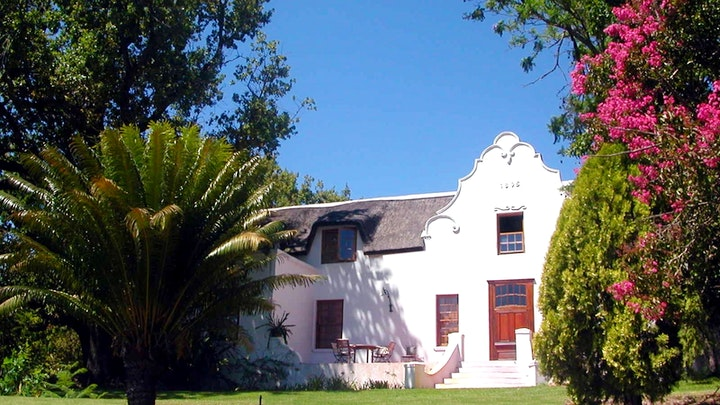 Bovlei Accommodation at Oude Wellington Estate   TravelGround