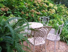 Private Patio Seating for Each Room