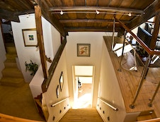 Staircase to the Loft Apartment