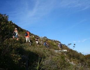 Hiking trail to Simon's Town waterfall