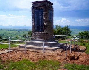 The Burger Monument on Spion Kop