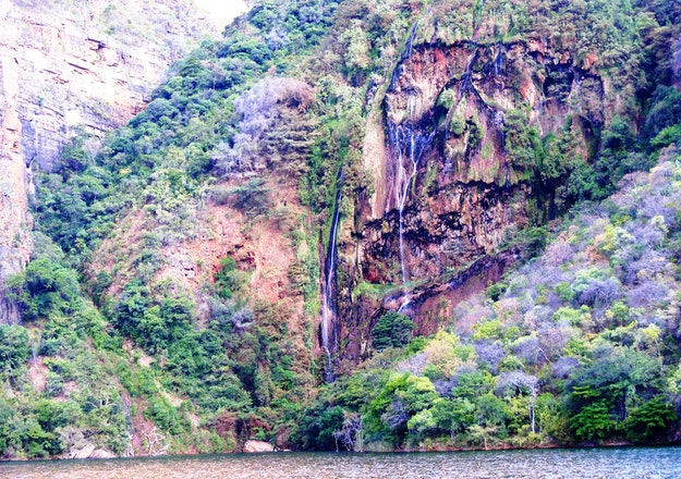 Blyde Canyon by boat
