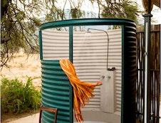 Karoo suite outside shower