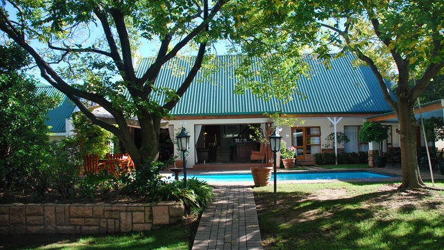 at Sunninghill Guest Lodge   TravelGround