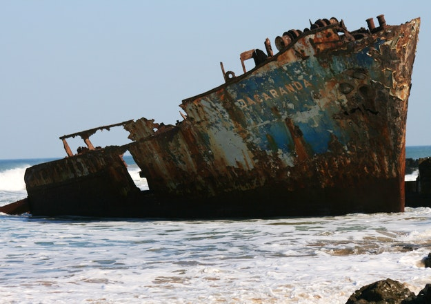 The Jacaranda Shipwreck