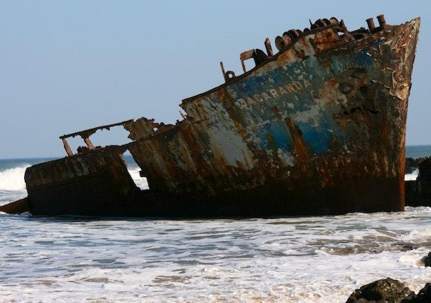 The Jacaranda Shipwreck