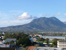 View of the Helderberg from the balcony