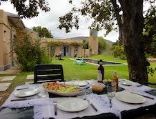 lunch in the braai area