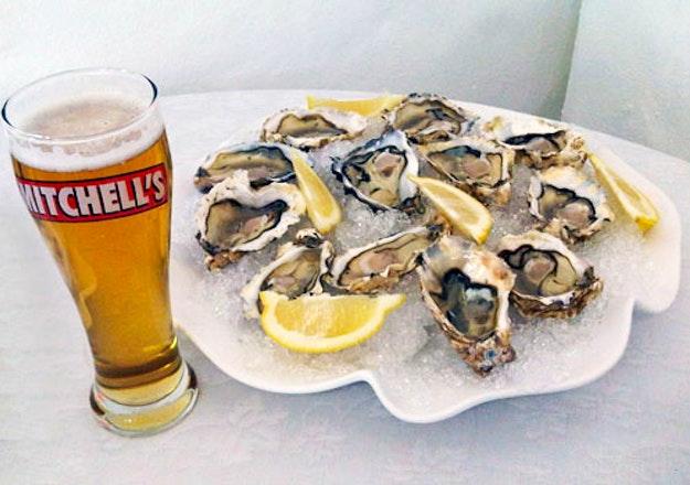 Beer & Oyster tasting