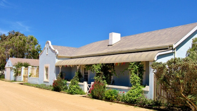 at Overberg Gems - The Blue House   TravelGround