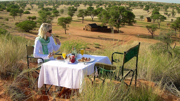 Kalahari Accommodation at Molopo Lodge | TravelGround