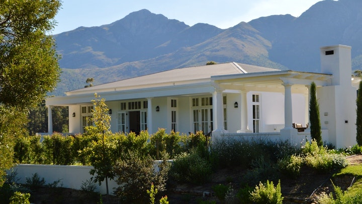 Franschhoek Accommodation at Lily Pond House at Le Lude | TravelGround