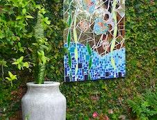 Pool mosaic detail