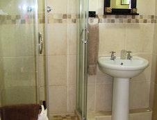 En-suite bathroom in chalets