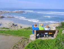 Walk to one of the beaches close to Milkwood Lodge