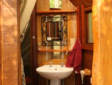 Hand crafted bathroom